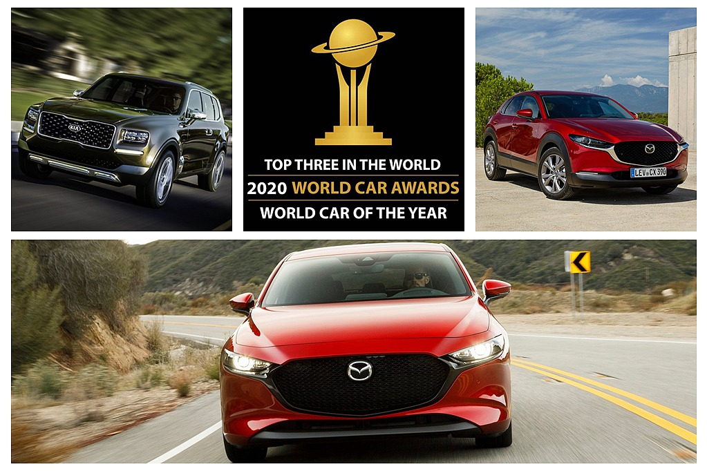 Mazda十拿九穩?2020世界年度風雲車決選名單出爐