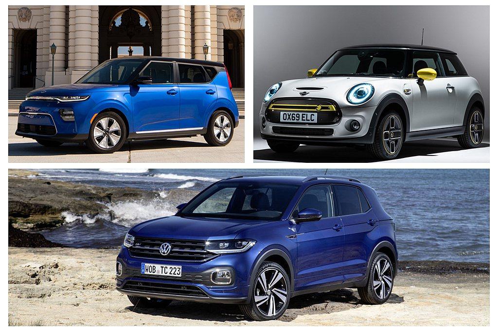 世界年度都會車獎項則有Kia Soul EV、Mini Electric以及Vo...