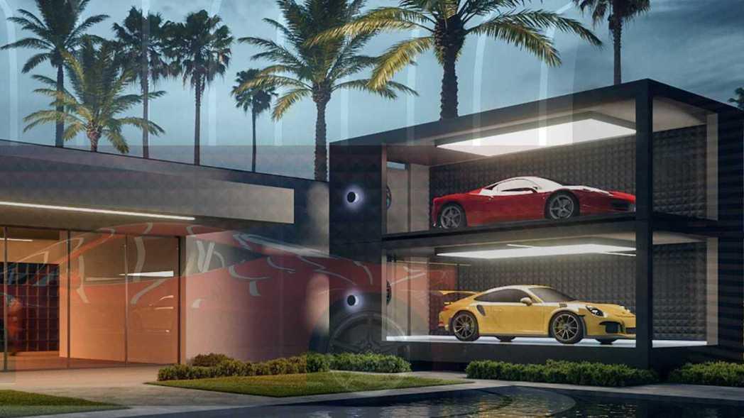 ASZ集團推出超跑膠囊(Supercar Capsule)。 摘自ASZarch...