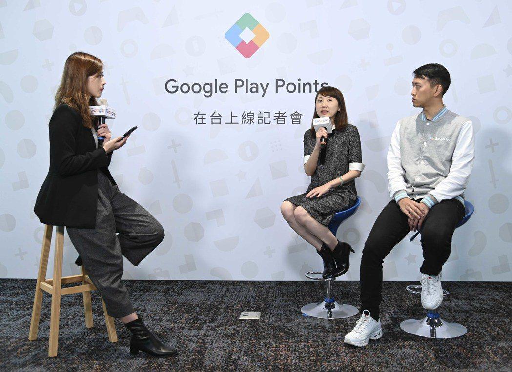 Google 台灣總經理林雅芳、Google Play 產品行銷經理劉明維分享 ...