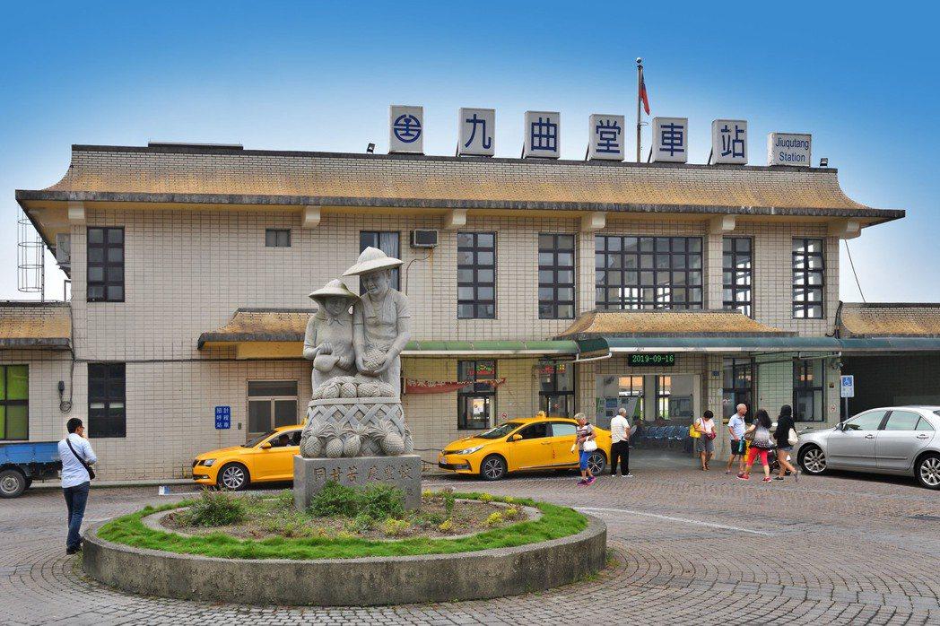 九曲堂車站。圖片提供/峻葳建設