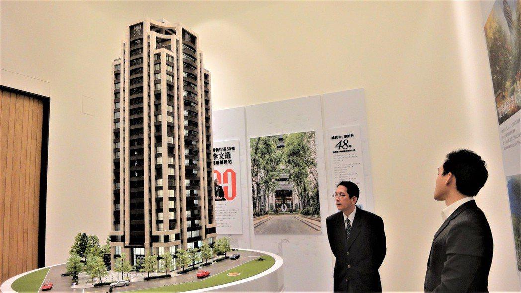 「松德長虹」規劃52、60、105坪質感輕豪宅。圖/倪子仁提供