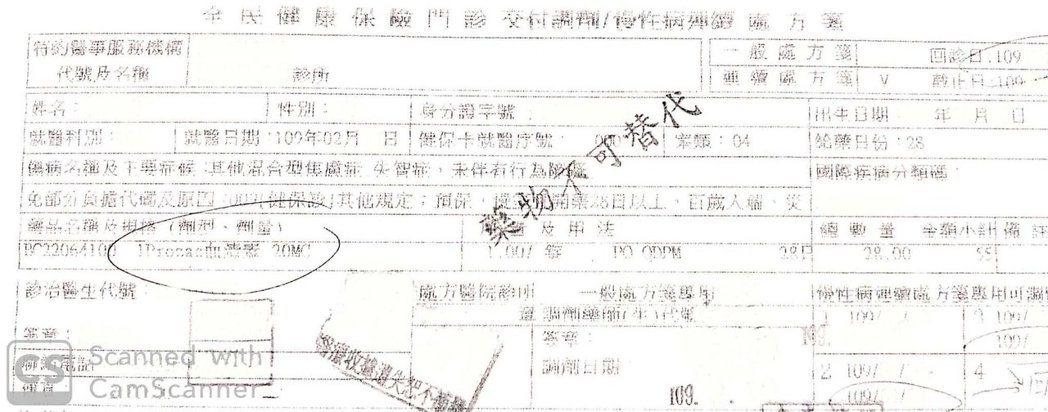 台南市藥師公會要求健保署開放讓社區藥局可以用三同藥品取代處方箋上的用藥,圖為處方...