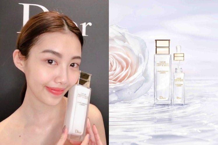 皮膚淨白得靠「淨化、活膚、防護」三部曲。記者劉小川/攝影、圖/迪奧提供