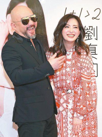 辛龍與劉真夫妻感情極好。本報資料照片
