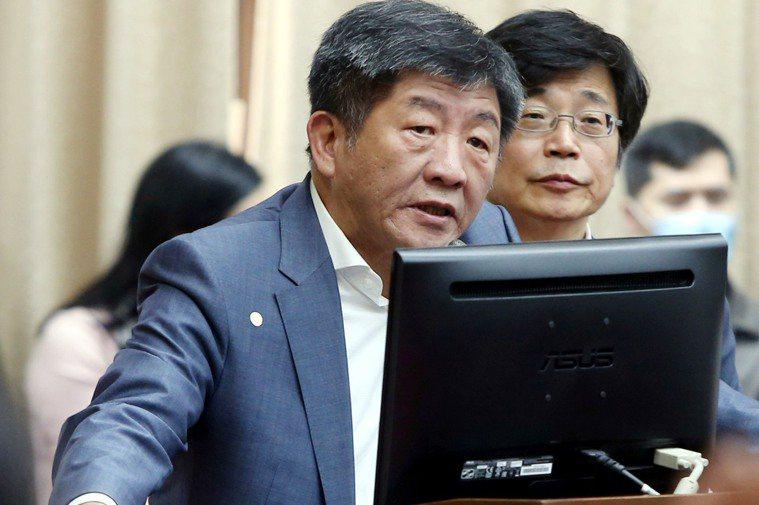 衛福部長、指揮中心指揮官陳時中。 聯合報系資料照/記者邱德祥攝影