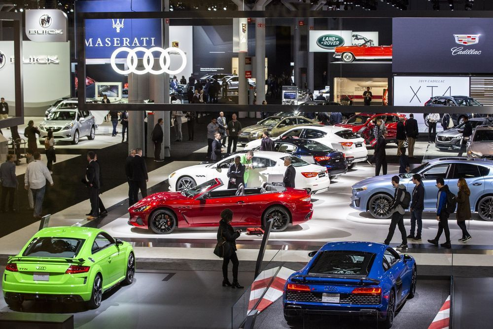 去年有參展的Audi早早宣布跳過2020紐約車展。 摘自Bloomberg