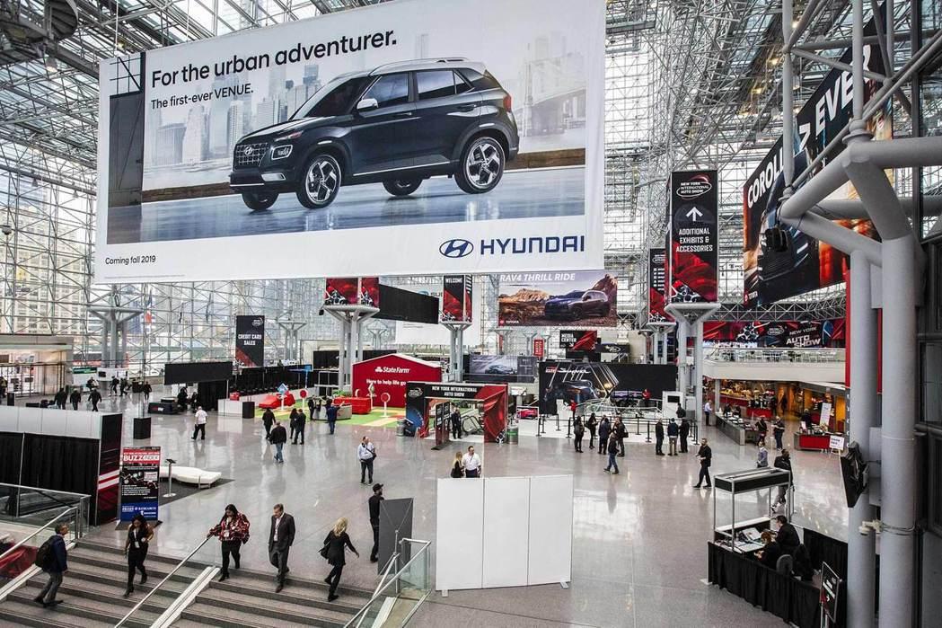2020紐約車展確定延到八月底才會舉行。 摘自Reuters