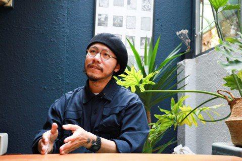 方序中2013年成立設計工作室「究方社」,並擔任創意總監至今。 圖/吳致碩拍攝