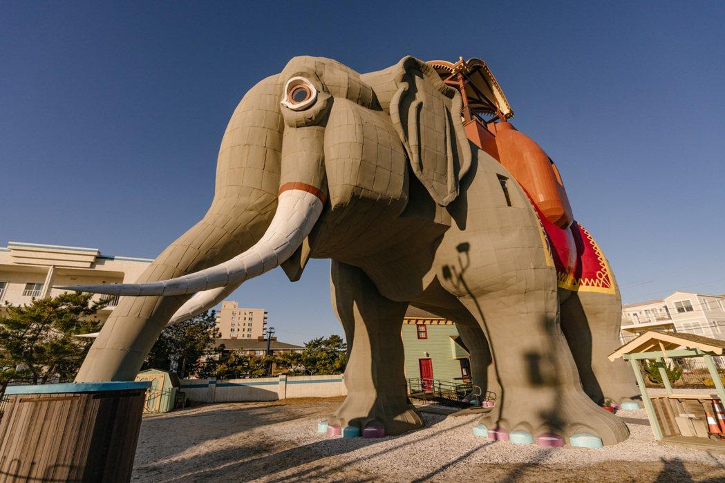 美國紐澤西州,海岸邊的大象房。 Airbnb /提供