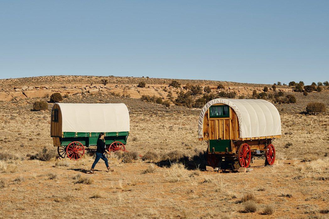 美國亞利桑那州,營地的古式旅行車。 Airbnb /提供