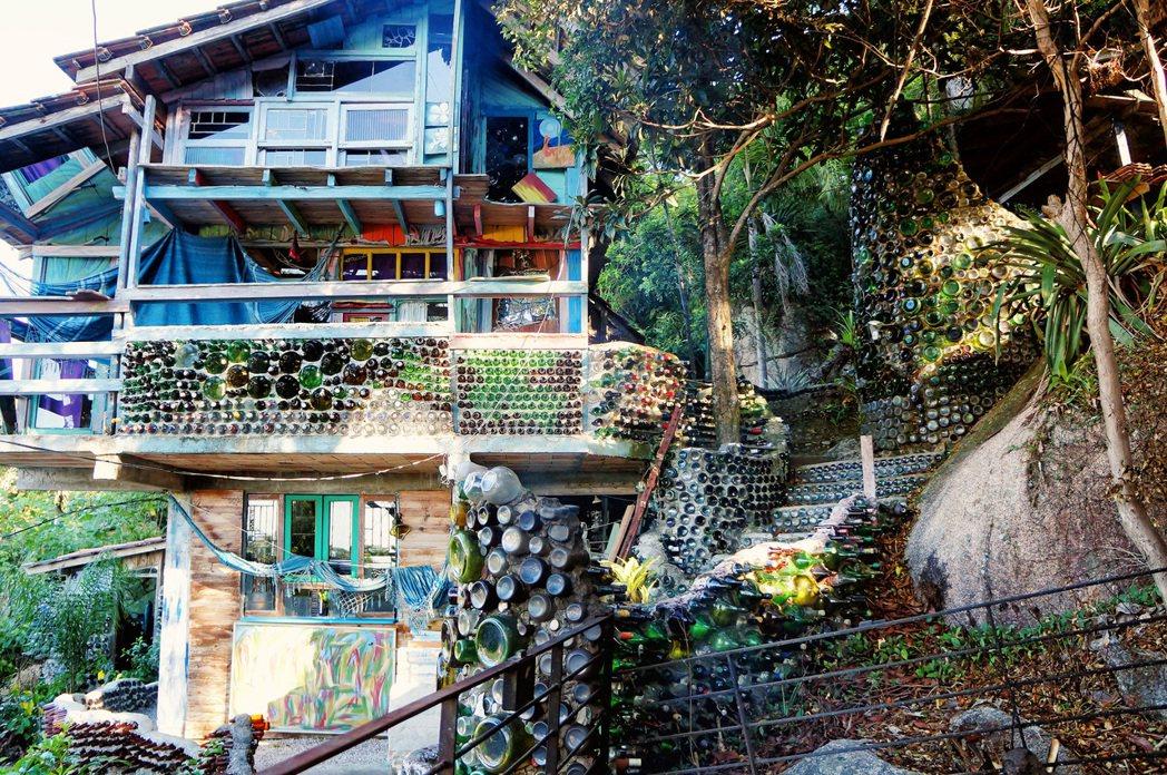 巴西聖卡塔琳娜州,南美琉璃風情永續屋。 Airbnb /提供