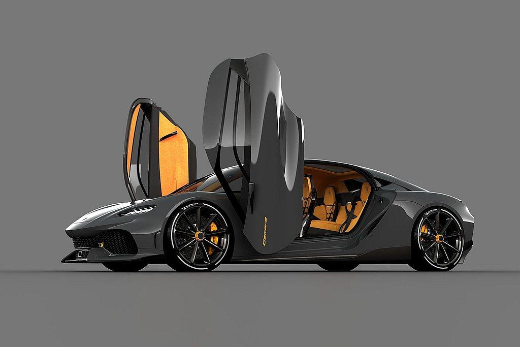 瑞典獨立超跑車廠Koenigsegg最新發表的Gemera,未來有望現身台灣市場...