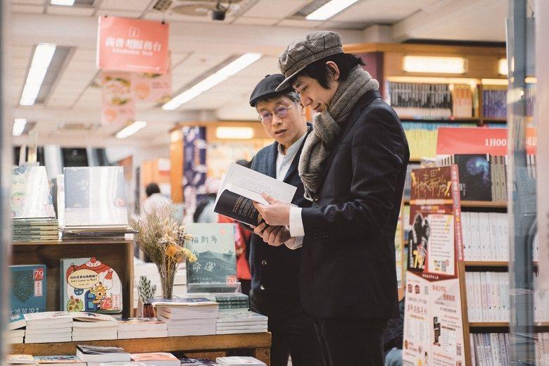 對學生時代的兩人而言,重慶南路是購買參考書、找資料的好地方。 攝影ー鄭弘敬