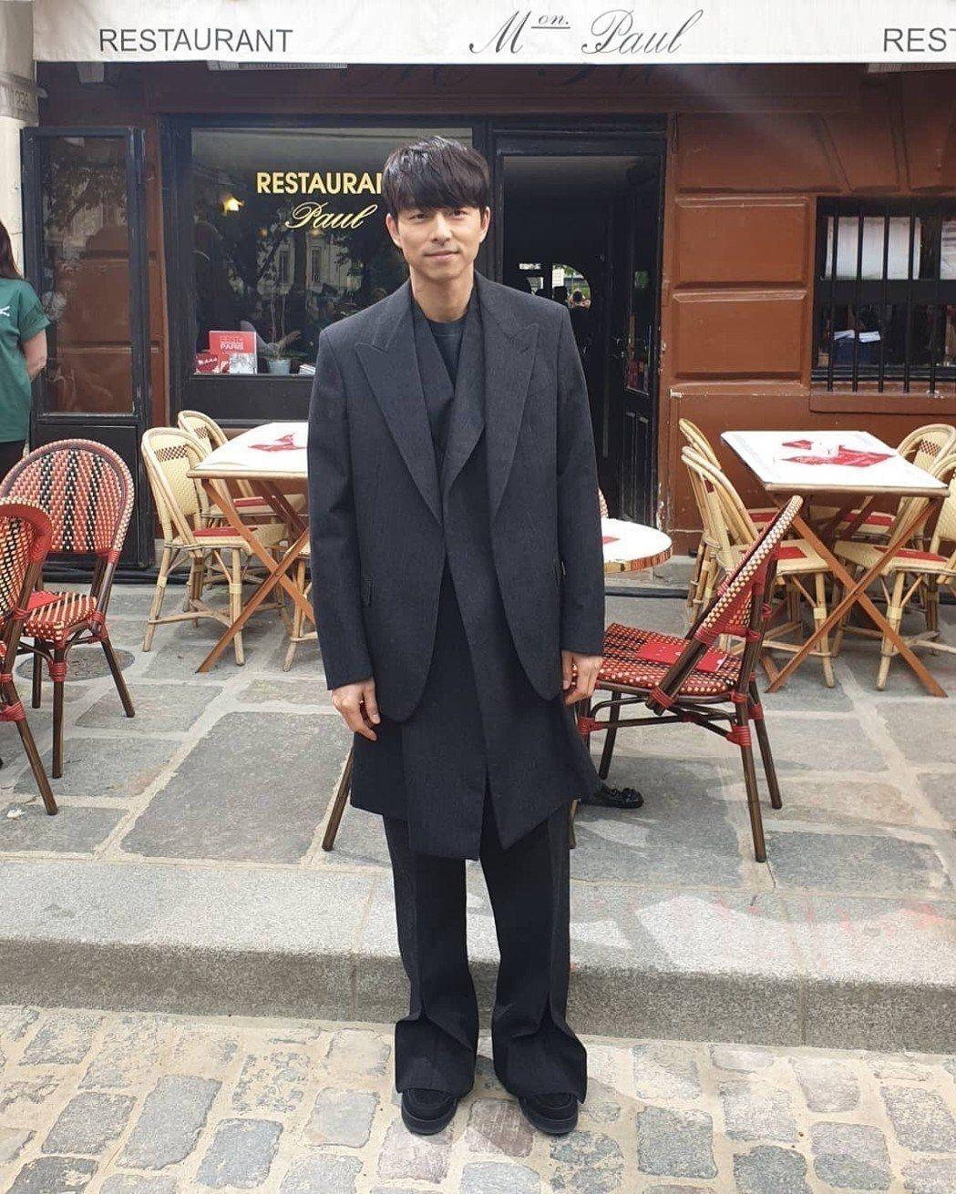 孔劉將參演導演金泰勇新電影「Wonderland」。圖/摘自微博
