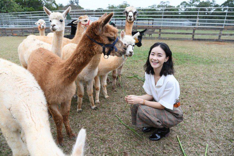 鍾瑤曾擔任「埔心農場」活動大使。圖/三立提供