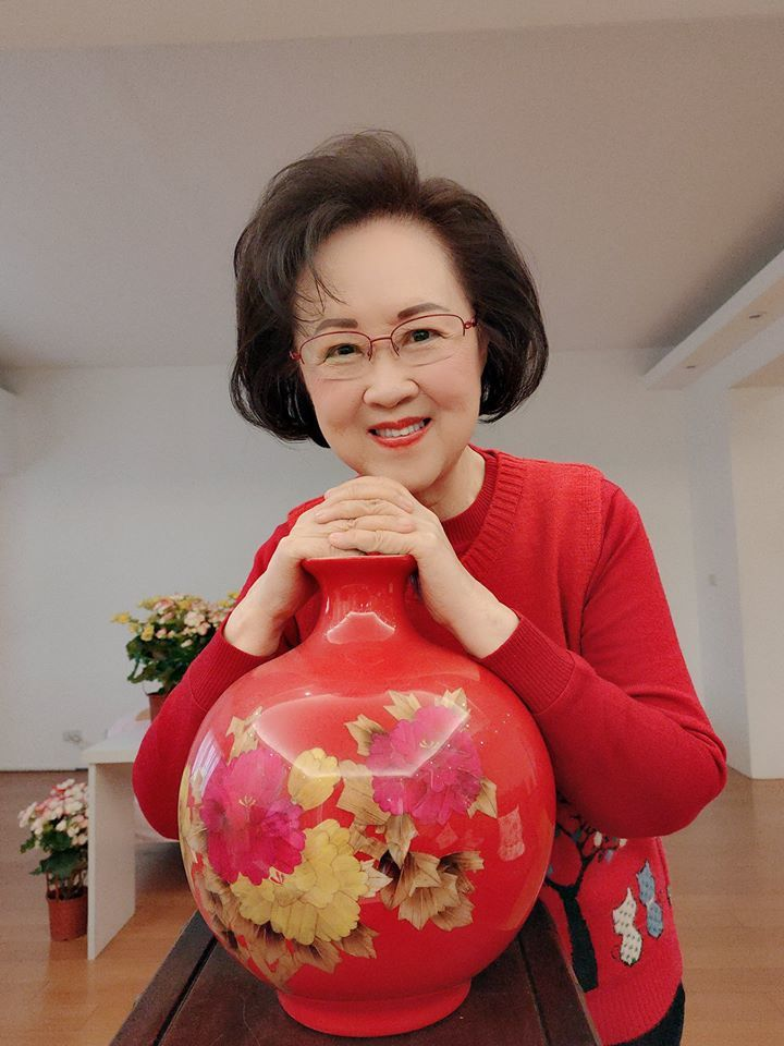 瓊瑤要和廣大臉友說再見 。圖/摘自臉書