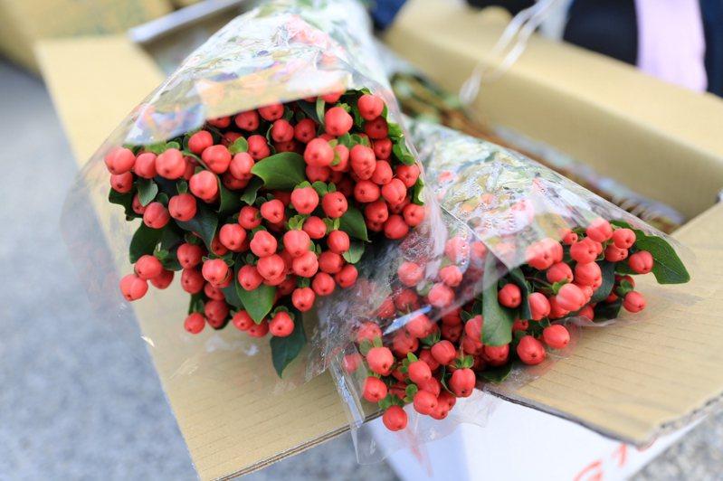 國內的花卉外銷市場以外銷日本為最大宗。圖為花卉示意圖。 圖/聯合報系資料照片