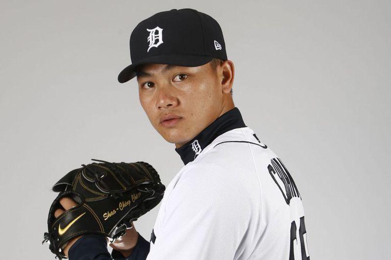 26歲台灣投手江少慶有可能成為這一波被球團徵召應急的投手戰力。 法新社