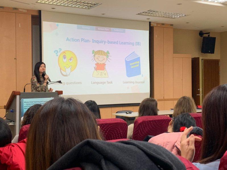 台師大針對台灣、日本、南韓和中國大陸的英語政策進行分析,發現台灣在國中階段的英語單字量和授課時數最少,呼籲課綱增加各教育階段的英文課時數及詞彙量,與國際接軌。圖/教育部提供