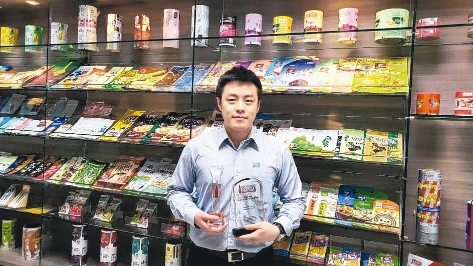 益森彩藝公司協理洪兆彥樂見新廠啟用,將帶動益森新成長動能。 吳毅倫/攝影