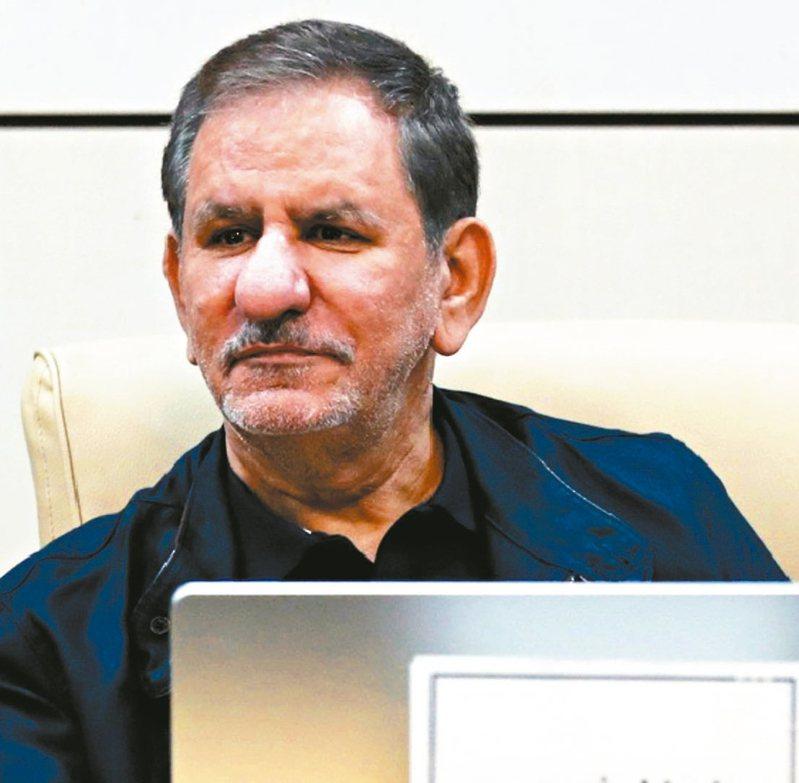 伊朗第一副總統賈汗吉里也確診感染新冠肺炎。 美聯社