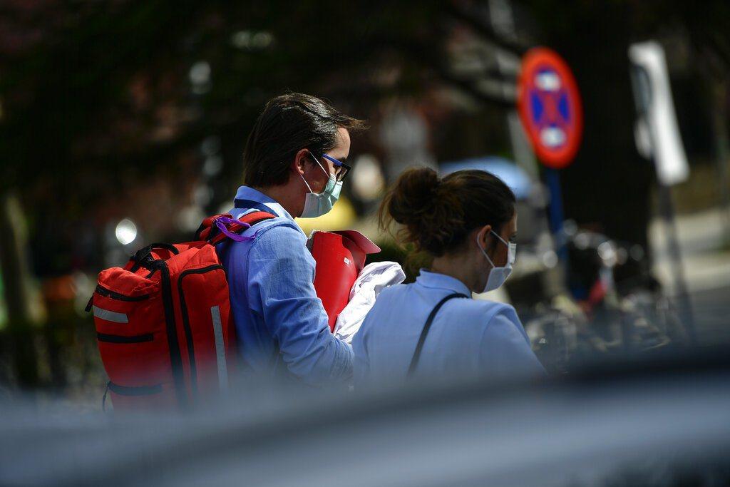 西班牙近來疫情升溫。 美聯社