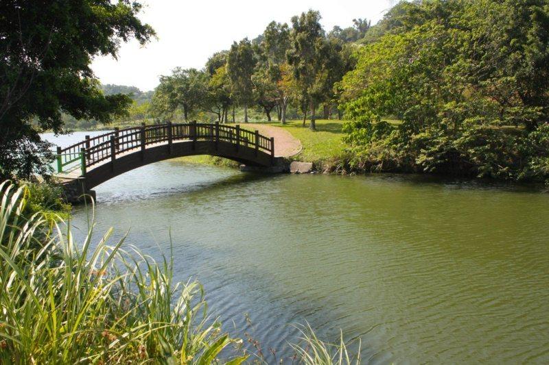 桃園市龍潭景點一路玩,三坑生態公園。 圖/市府觀旅局 提供