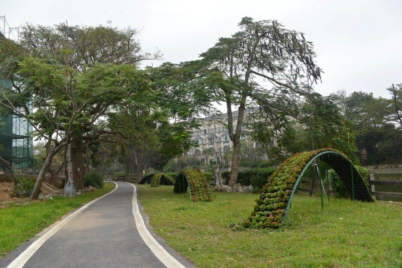 桃園市龍潭景點一路玩,三林自行車道。 圖/市府觀旅局 提供