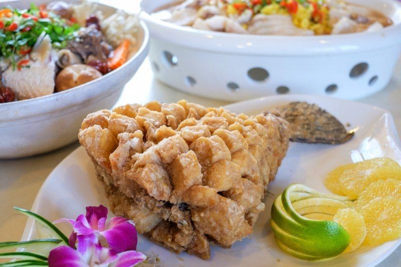 桃園市龍潭好玩好吃,石門活魚料理好幾吃聞名。 圖/市府觀旅局 提供