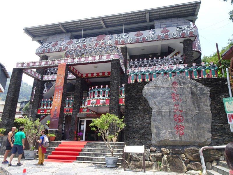 圖為霧台鄉的魯凱文物館。 圖/本報資料照片