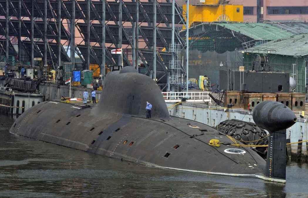 今年1月,印度成功試射潛射飛彈,未來計劃裝備在印度國產的「殲敵者」級(Arihant)核動力潛艦上。 圖/路透社