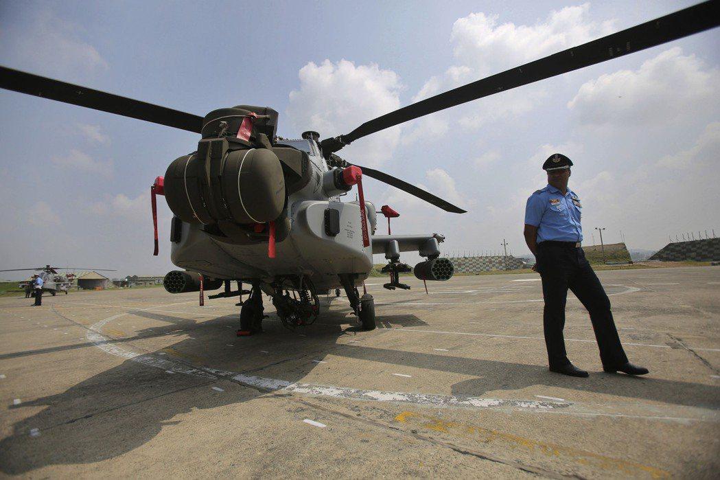 印度向美國採購AH-64阿帕契直升機。 圖/美聯社