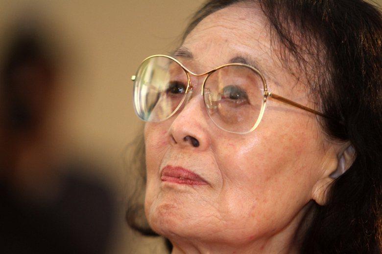 聶華苓,攝於2011年。 圖/聯合報系資料照