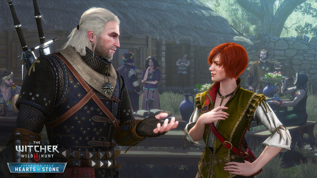 《巫師3》DLC「石之心」遊戲畫面