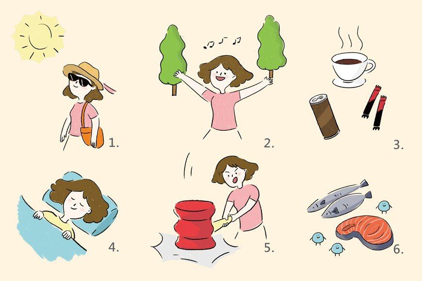 更年期也可能造成睡眠缺乏,因而導致脾氣暴躁或高血壓,建議為了睡眠品質應少喝咖啡,...