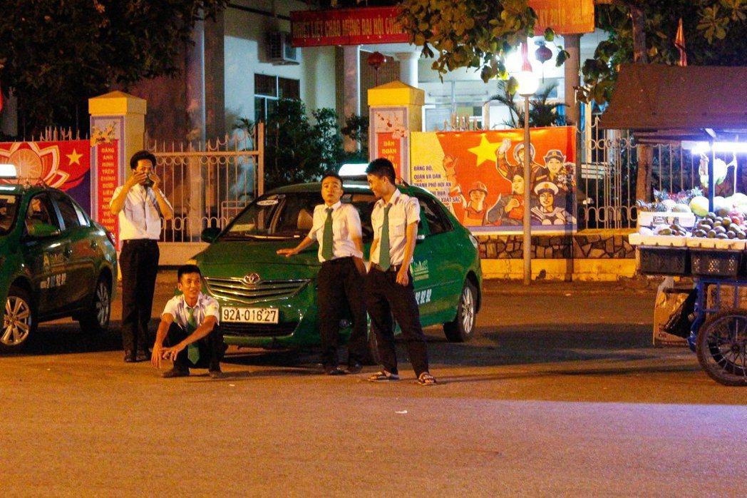 越南當地的計程車。 圖/Shix Yen提供