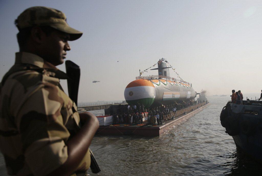 印度虎鯊級常規動力潛艦。 圖/美聯社