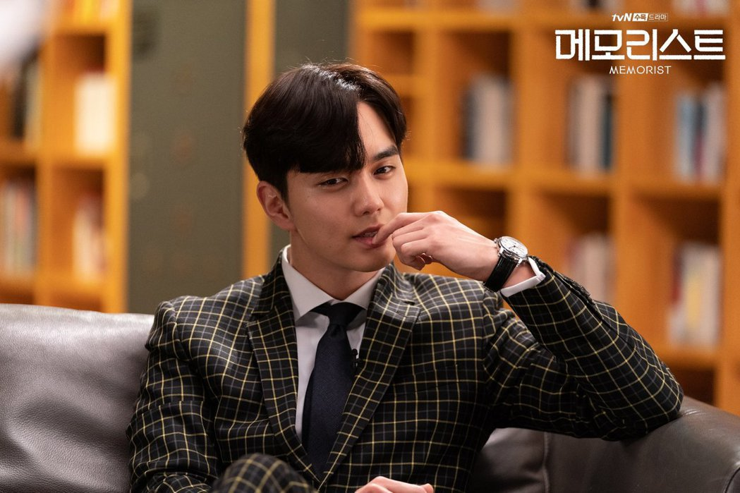 俞承豪在新戲《Memorist》中演出型警。圖/擷自tvN臉書