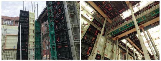 ●Alfa Safe系統模板工法尺寸多樣化設計,事先規劃標準化施工,提升施工品質...