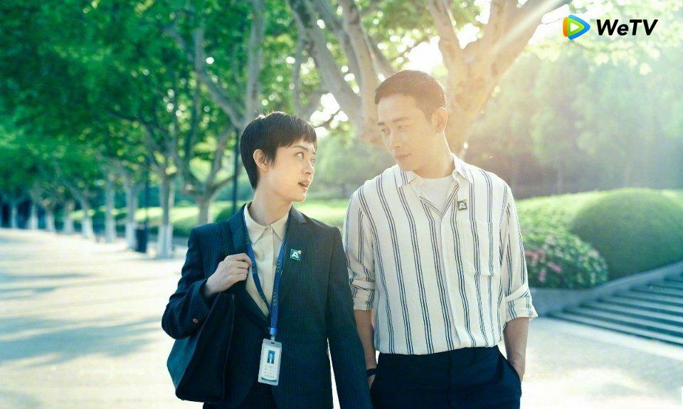 孫儷與羅晉在「安家」中的組合相當耐人尋味。圖/WeTV提供