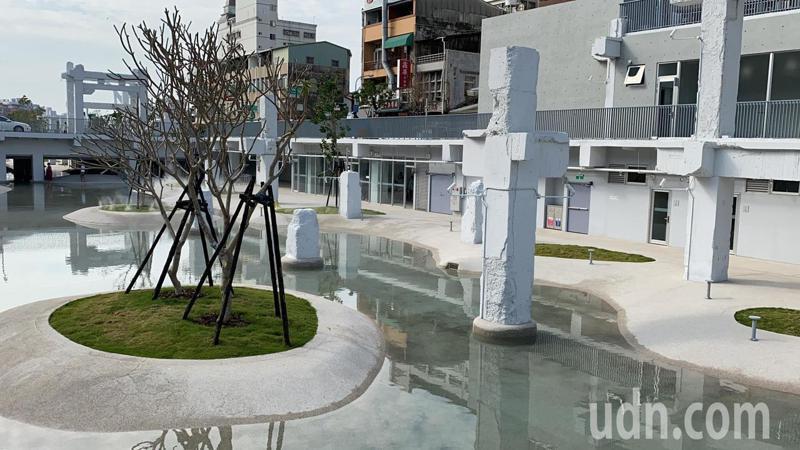 台南河樂廣場本月7日啟用。記者鄭維真/攝影