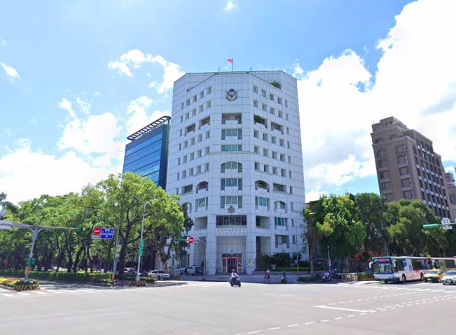 台北市大安分局。圖/取自GoogleMap