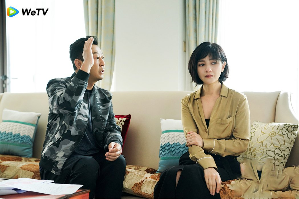 在「如懿傳」中演純妃的胡可(右)也在「安家」有演出。 圖/WeTV提供