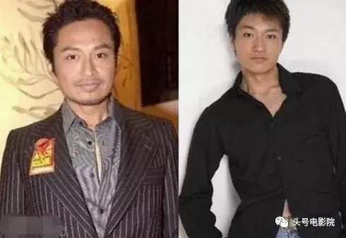 李宗翰(右)演出安家受矚目,網友發現他撞臉馬景濤。圖/摘自微博