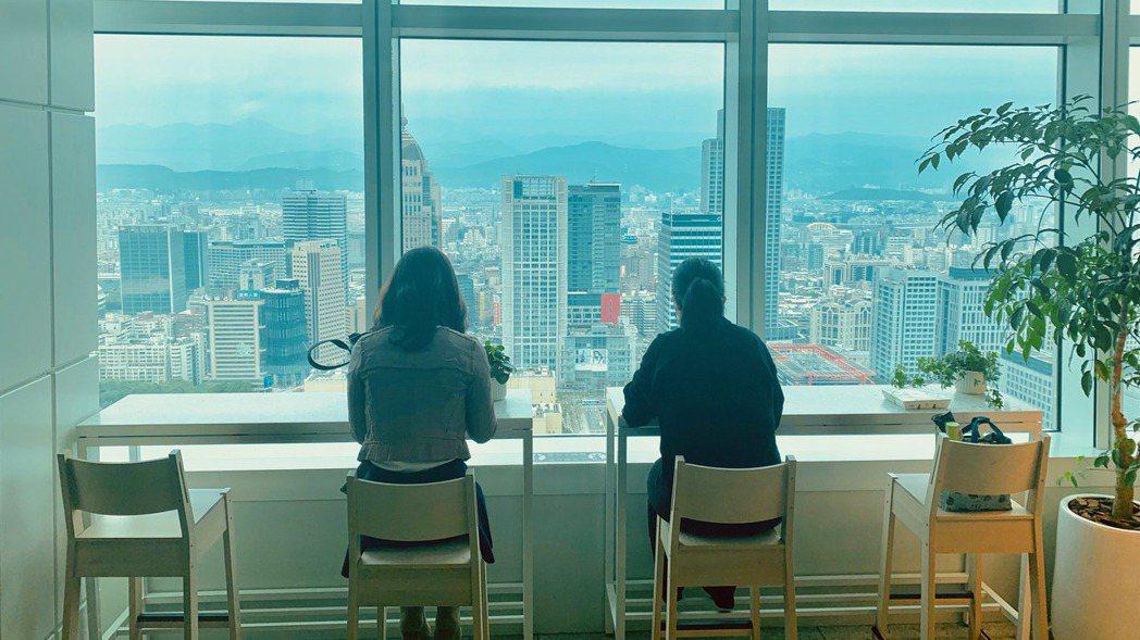 台北101大樓35樓「Sky Park」空間,攜手大成集團引進5家餐飲品牌。 圖...