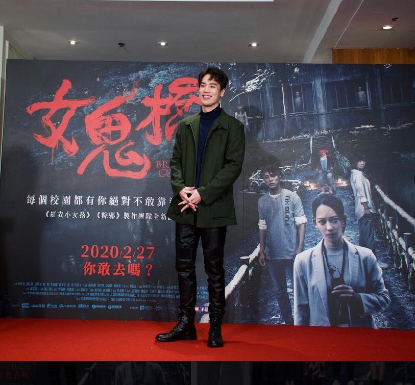 謝毅宏主演「女鬼橋」在疫情紛擾下堪稱票房黑馬。圖/艾迪昇傳播提供