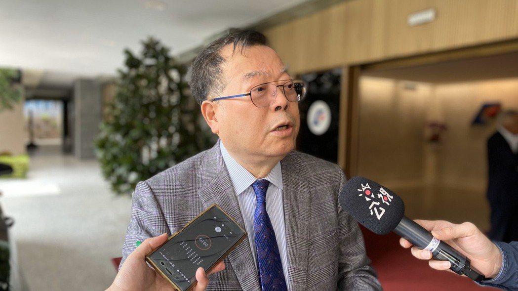 力積電董事長黃崇仁。 記者林于蘅/攝