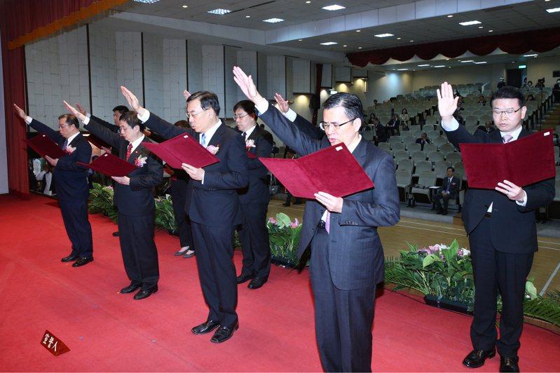 全國17名檢察長上午舉行交接典禮。 記者蘇健忠/攝影