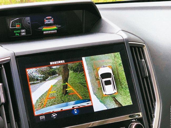 升級支援360度環景影像系統、Apple CarPlay 與Android Au...